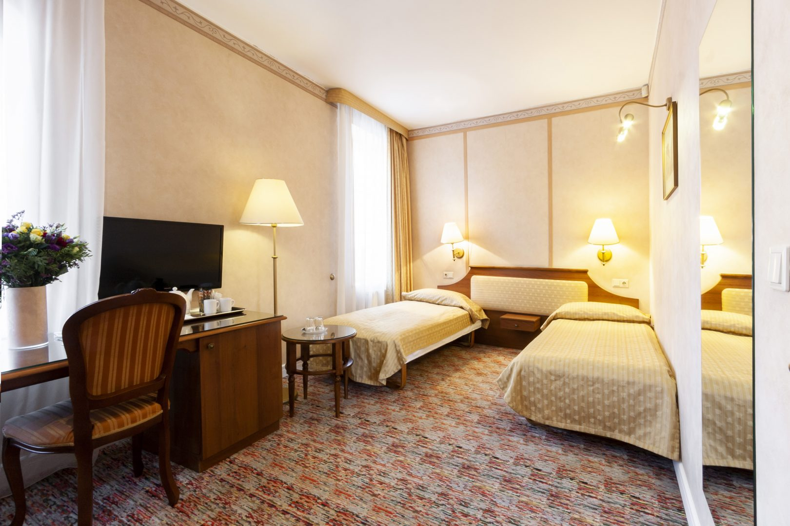Standartinis kambarys su dviem atskiromis lovomis